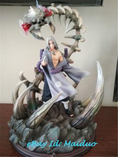 Naruto Kimimaro Statue Resin Figurine GK Night Glow Model Anime Collections