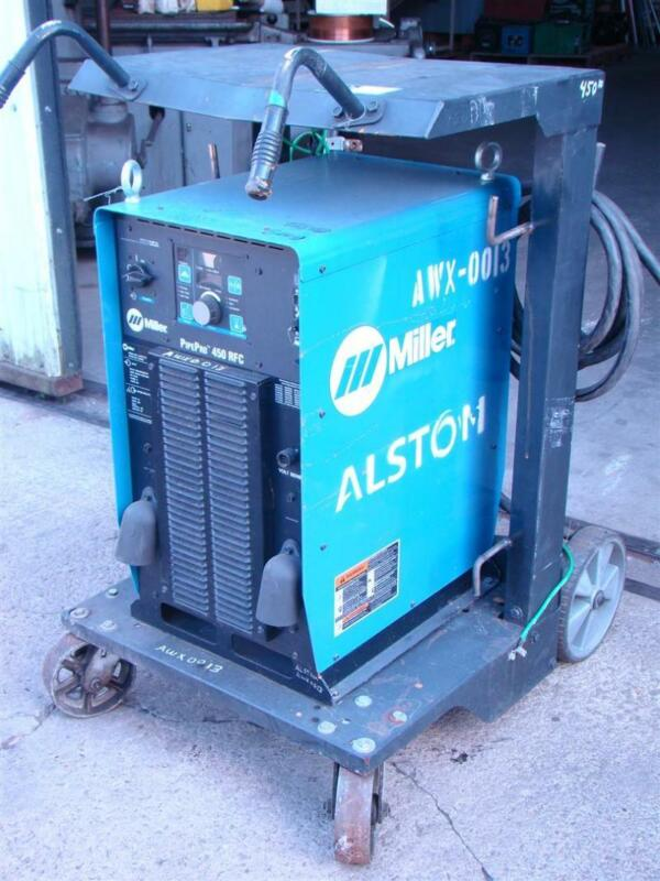 Miller  Pulsed Mig Welder Power Source , Pipe Pro 450 RFC