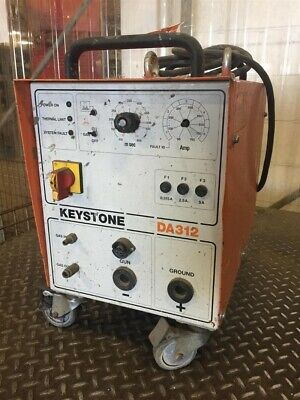Keystone Arc Stud Welder 3ph 208230400460v 5025 Amp Da312