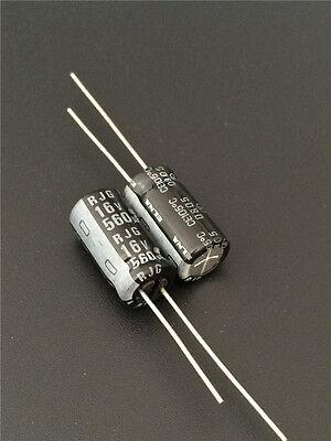 10pcs 560uf 16v Elna Rjg 8x16mm 16v560uf High Reliability Audio Capacitor