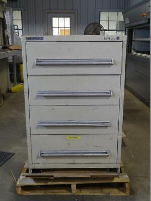 Stanley Vidmar Stationary Full Height Modular 4-drawer Cabinet Ama164