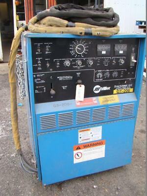 Miller Acdc Cc Tig Welder 1ph 200230460v Syncrowave 500 Water Cooled Torch