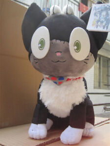 Cute Plush Doll Blue Exorcist Ao no Exorcist Kuro Neko Rin Stuffed Toy Gift