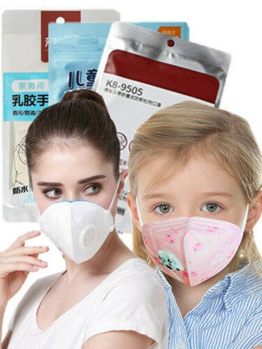 9psc Mask Breathable Anti Haze Fog Face Mouth Mask