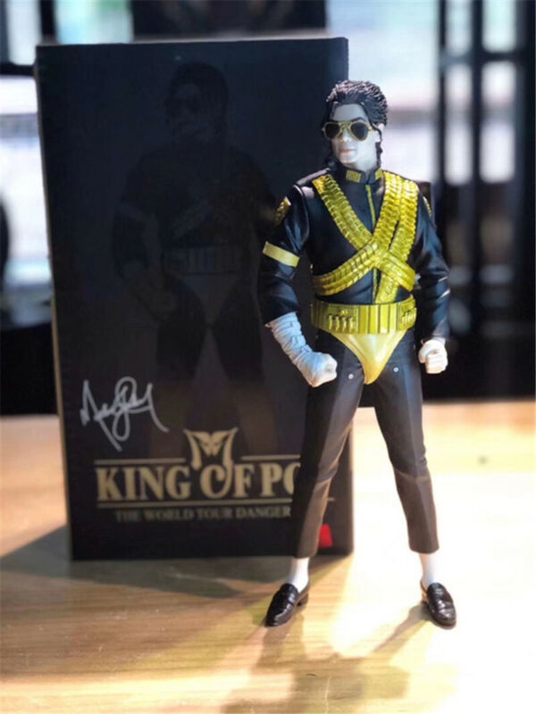 "Michael Jackson 1993 King of Pop 13""Doll Figure Memorial Statue Collection Boxed"