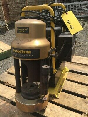Goodyear Perma-crimp 1hp Hydraulic Hose And Fittings Crimper Pc125