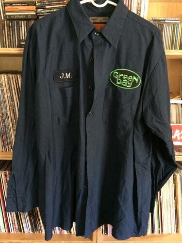Green Day Insomniac Era Work Shirt NOS XL NOFX AFI Alkaline Trio MxPx Punk