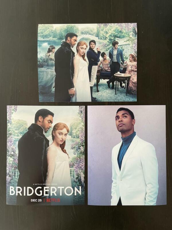 REGE-JEAN PAGE BRIDGERTON COLLECTIBLE PHOTO SET J - SEXY HEARTTHROB, VERY RARE!