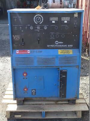 Miller Acdc Cc Tig Welder 1ph 200230460v  Syncrowave 500