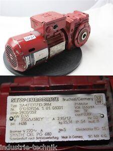 SEW-0-55-kw-252-motore-ingranaggio-min-cambio-SA42TDT71D-2BM