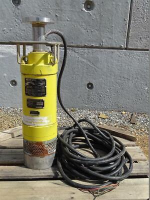 Mesa-Line Submersible Mine Sump Pump 2.5 HP, 460v/3PH/60Hz, 9-69334-05 Line Submersible Pump