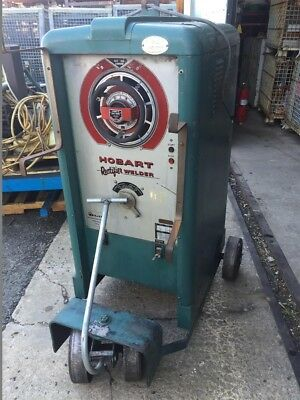 Hobart Vintage Retro Arc Stick Welder 300a Dc Input 230460v 3-ph Rd-304