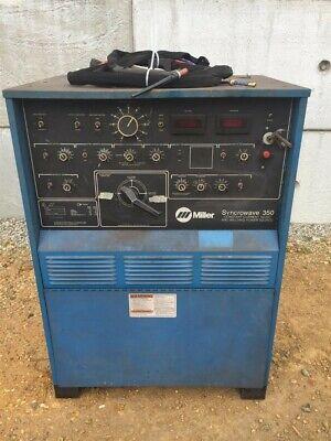 Miller Tig Welder Acdc 200230460v 1ph Jk729456 Syncrowave 350