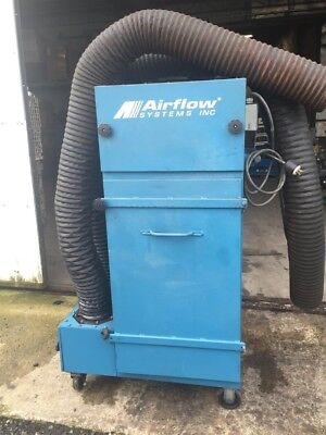 Airflow Systems Inc Industrial Smoke Fume Collector 3hp 460v3ph Pac91-ia