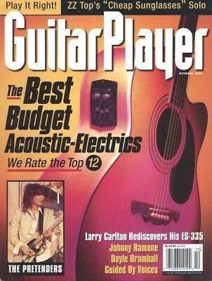 GUITAR PLAYER MAGAZINE 1999 OCT - BEST BUDGET ACOUSTICS, ZZ TOP SOLO (Best Budget Acoustic Guitar)