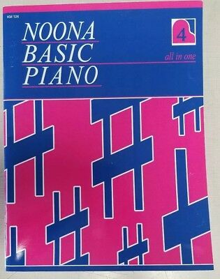 NOONA BASIC PIANO Course ALL IN ONE Book 4 - Piano Lesson Sheet Music (Noona Basic Piano Book)