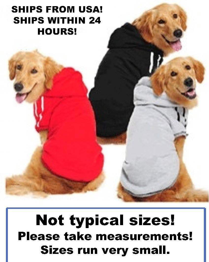 Купить Unbranded Hoodie - Puppy Pet Dog Clothes Hoodie Winter Sweatshirt Shirt Pet Coat Jacket S-9XL