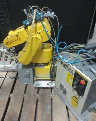 Fanuc Lr Mate 200ib5p Industrial Robot With Rj3ib Controller And Teach Pendant