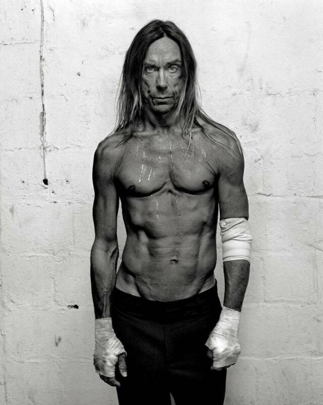 The Stooges Iggy Pop Black And White  8x10 Photo Print
