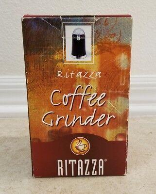 Ritazza Coffee Grinder - Model CBG-1 - Black/Silver