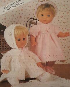 2dc7d5b461b Knitting Pattern DOLLS   PREMATURE BABY Clothes 12 - 22
