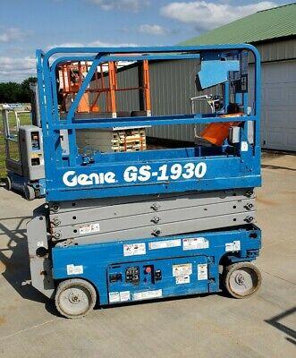2013 Genie Gs1930 19 Electric Scissor Lift Jlg Skyjack Aerial Platform Manlift