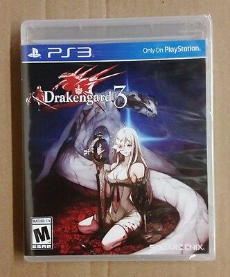 Drakengard 3 Sony PlayStation 3, PS3 Brand New Factory Sealed