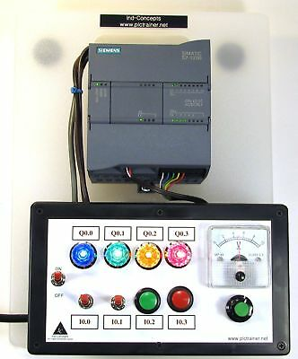 Siemens S7 1200 Plc Trainer Analog No Software