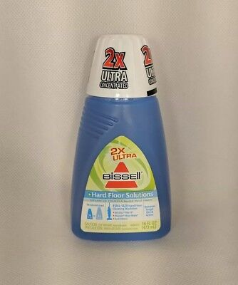 Bissell Hard Floor Solutions 2x Ultra Concentrated Formula 16oz Sealed Refill (Bissell Hard Floor Formula)