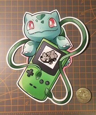 Pokemon Bulbasaur Game Boy sticker](Pokemon Stickers)