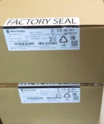 Allen Bradley 2711p-t7c21d8s Panelview Plus 7 Factory Sealed 2017 7 Hmi Color