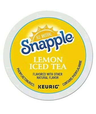 Flavored Iced Tea K-Cups, Lemon, 22-Box Green Black  best buy date Feb 13, 2014