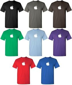 APPLE-T-shirt-Computer-GEEK-shirt-Mac-logo-OSX-TEE-COOL