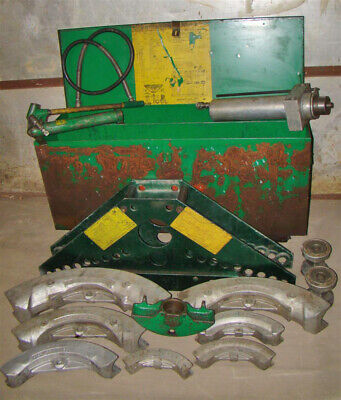 Greenlee Hydraulic Bender With Power Unit 4 - 1-14 884