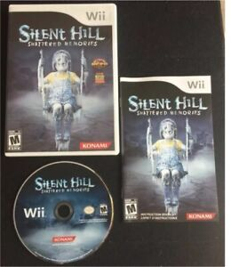 SILENT HILL Shattered Memories Nintendo Wii Video Game excellent