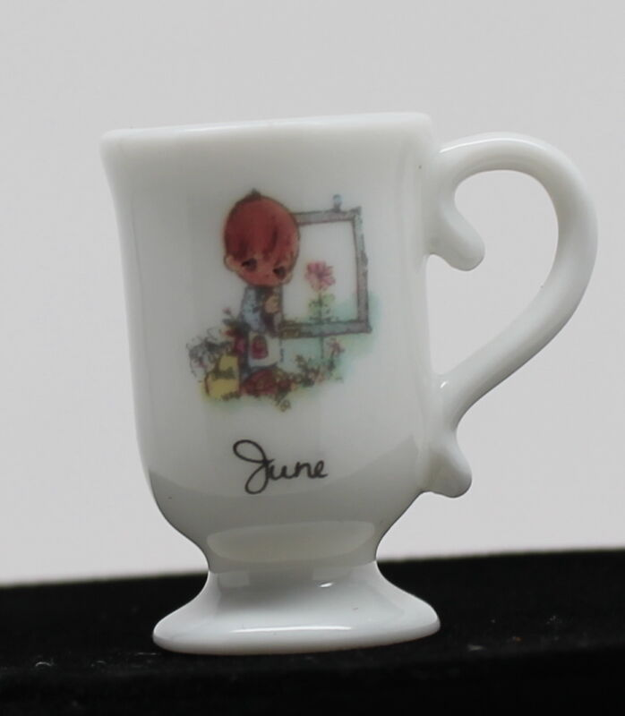 Precious Moments Month Miniature Mug June