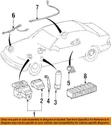 MERCEDES OEM 1994 S350 Anti-Lock Brakes ABS-Control Module 0135452832