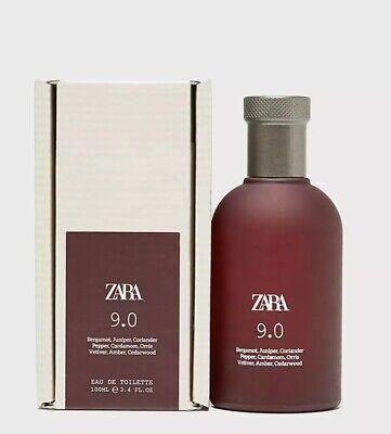 ZARA MENS 9.0 EDT EAU DE TOILETTE FRAGRANCE 100ML BRAND NEW SEALED BOX