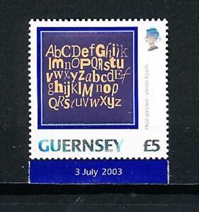 Guernesey - Guernsey - 2003 YT 993 - Mi 983 - SG 1008 - Scott 809 Alphabet neuf - COLOMBES, Île-de-France, France métropolitaine - Pays de fabrication: Guernesey Qualité: Neuf sans trace de charnire - COLOMBES, Île-de-France, France métropolitaine