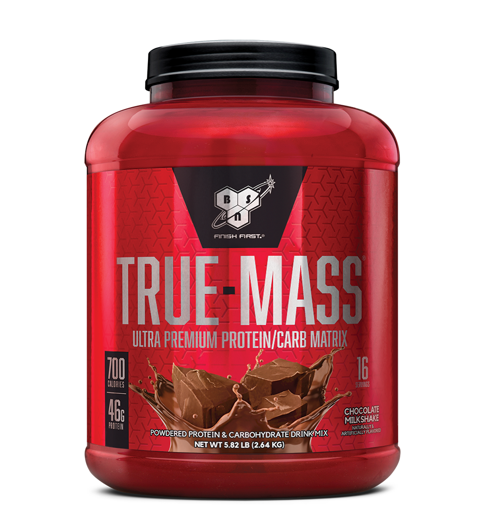 BSN TRUE-MASS Weight Gainer,Muscle Mass Gainer Protein - 5.8