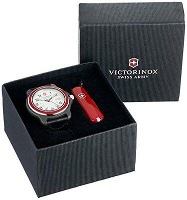 Victorinox Men's 249085.1 Original XL Swiss Quartz Watch Black with Army Knife Army Water Resistant Knife