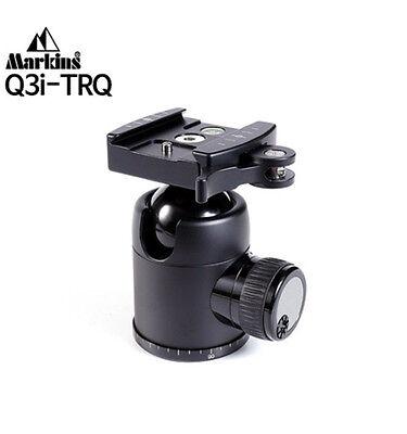 Markins Camera Tripod Ball Head Q3i-TrQ Traveler Black