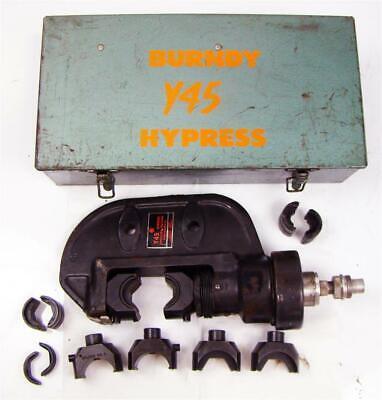 Burndy Y45 Hypress  9500-10500 Psi Includes U-die Adapter And 3 Dies