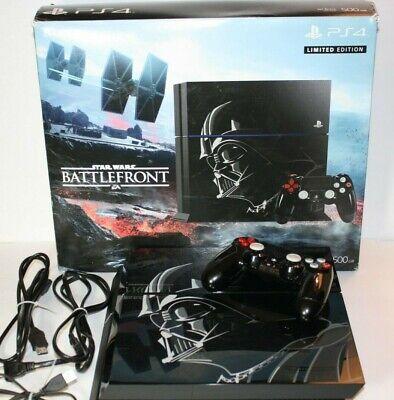 PlayStation 4 Star Wars 500GB Darth Vader PS4 ConsoleLimited Edition FREE SHIP!