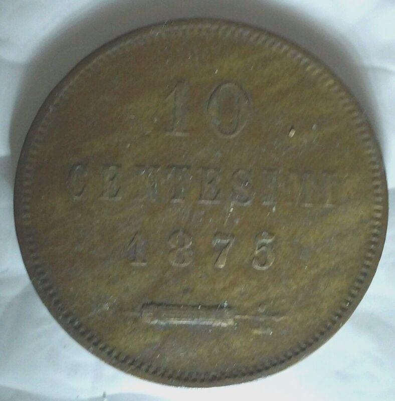 San Marino 1875 10 Centesimi