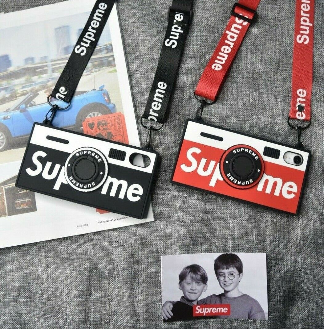 Hypebeast SUP Vintage Camera Style iPhone Case Cover with St