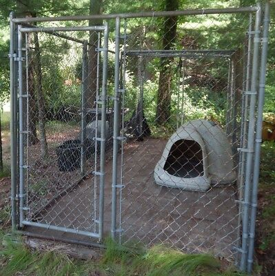 Heavy Duty Galvanized Chain Link 6' x 6' x 18' Dog Kennel LOCAL PICKUP ONLY, used for sale  Lakeville