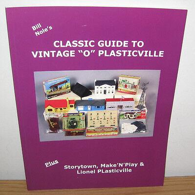 MR NOLE CLASSIC PLASTICVILLE VINTAGE BUILDINGS PRICE GUIDE BOOK STORYTOWN LIONEL