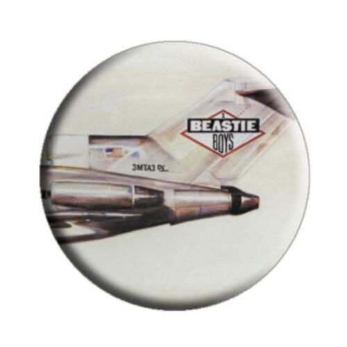 """Beastie Boys Licensed To Ill 1.25"""" Button B010B125 Pin Badge"""
