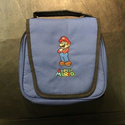 Super Mario Bros Carrying Case Pouch Bag For Nintendo DS Bundle With -